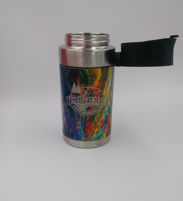 Aurora Insulated Travel Mug - Melted Colors