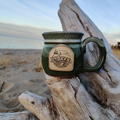 Mid-Day Memories Mug-Moss Green